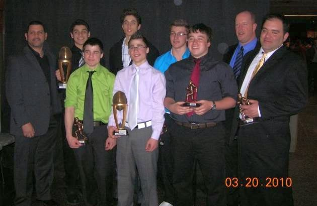Stallions bantam coaches and players