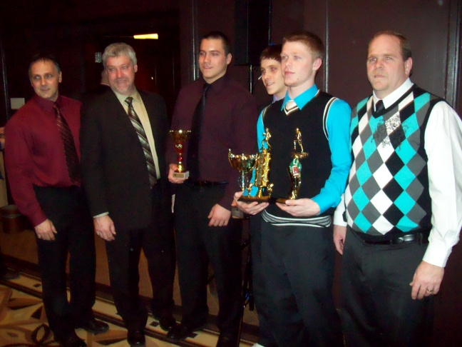 Stallions at the QMFL banquet