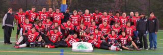 The Cornwall Wildcats: 2011 NCAFA Bantam B winners